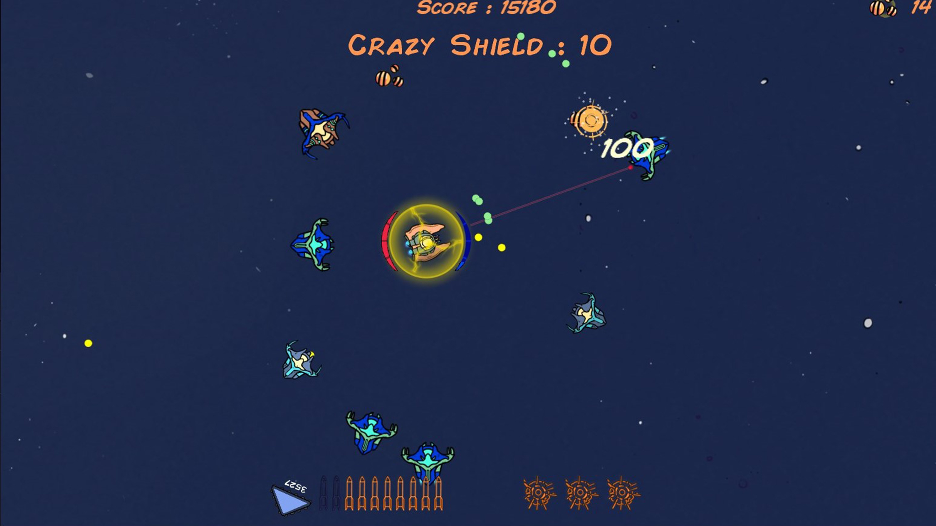 AST-Hero space shooter screenshot 1