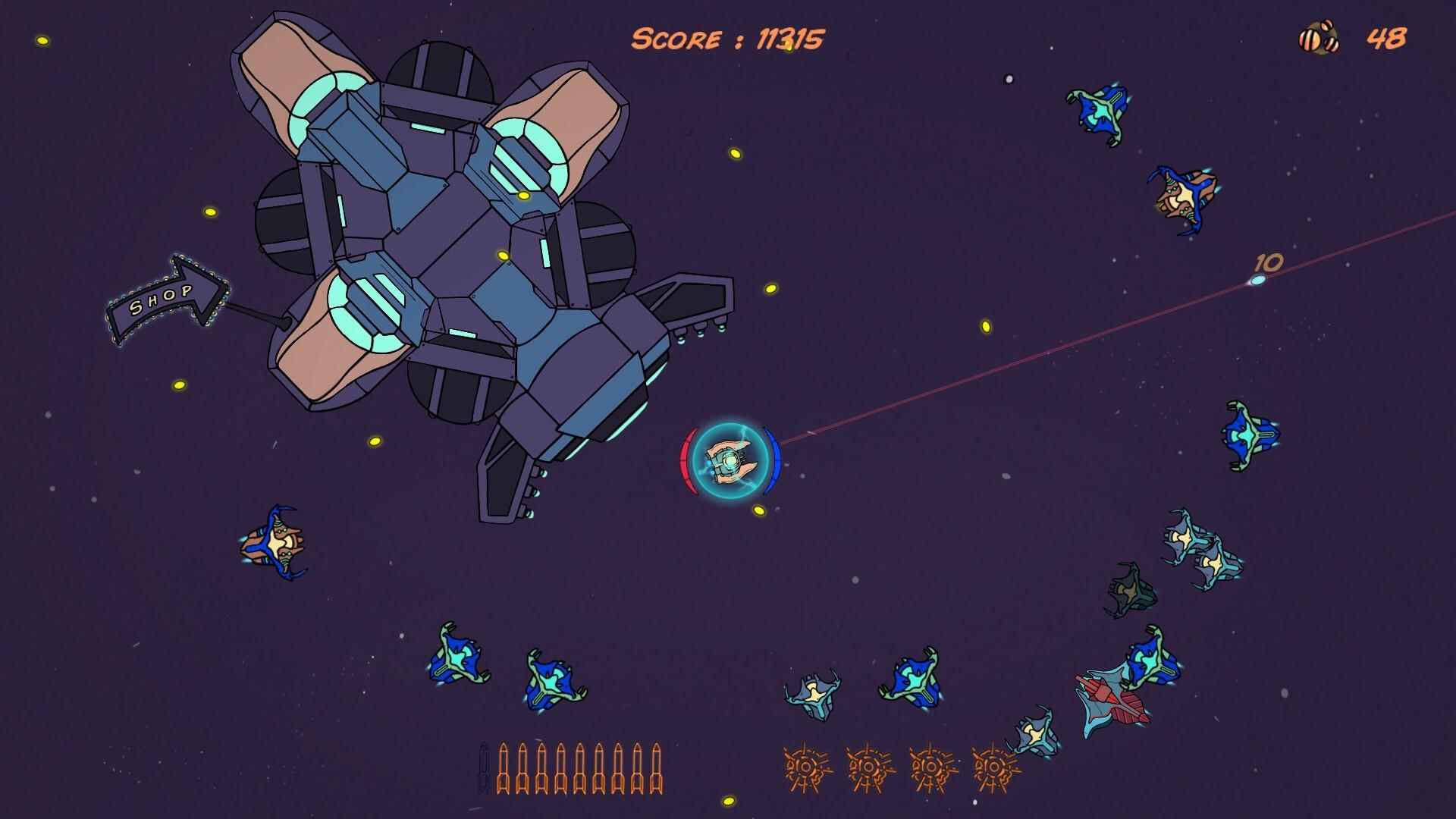 AST-Hero space shooter screenshot 1